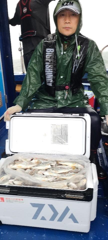 8월1일 대양호 백조기 조황