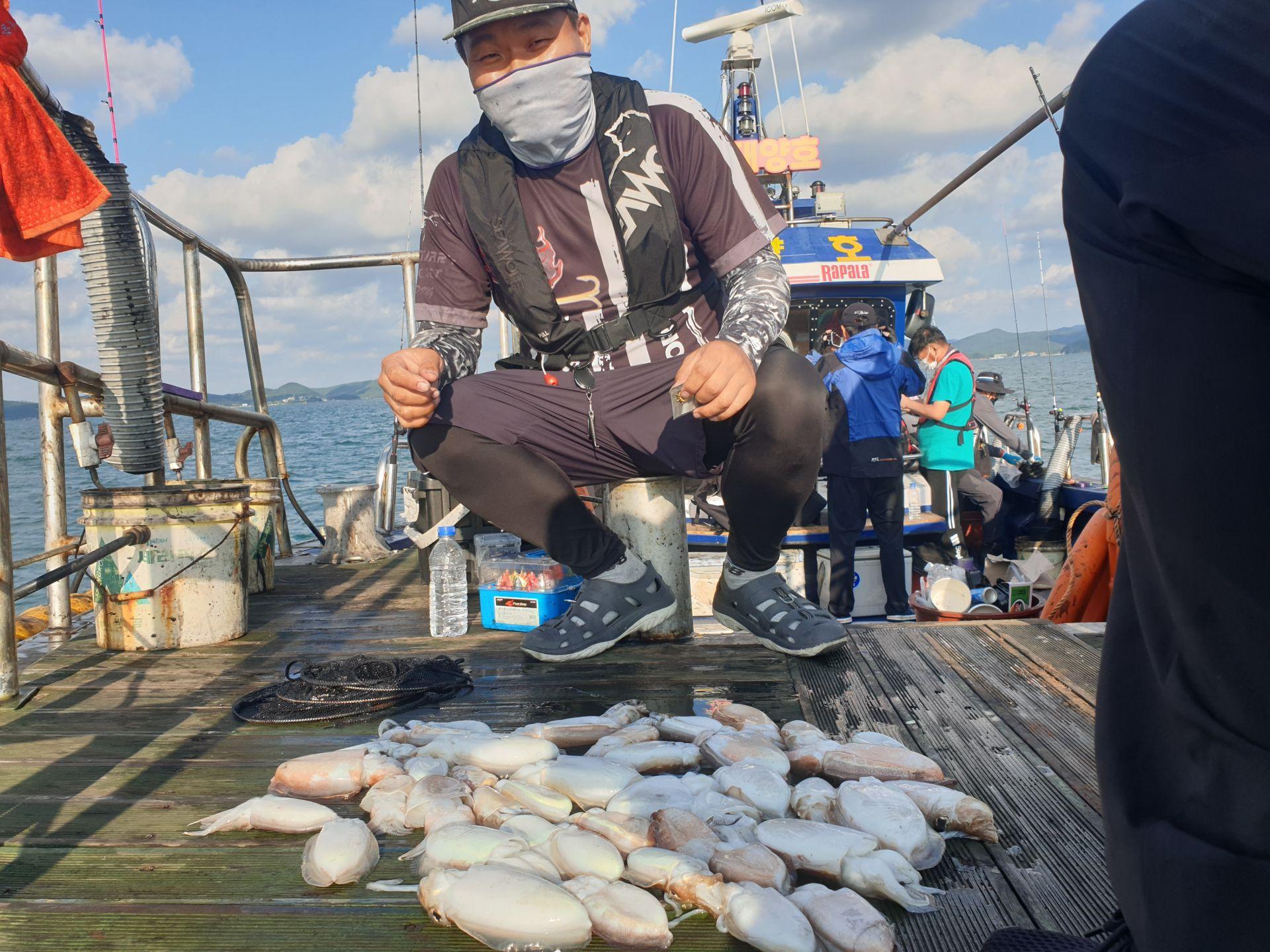 9월22일 대양호 갑오징어조황